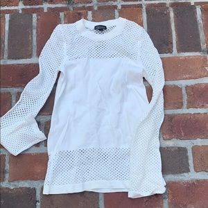 Top shop white sweater size 6